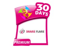 1 Month ShareFlare Premium Account