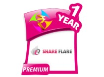 ShareFlare 1 Year Premium Account
