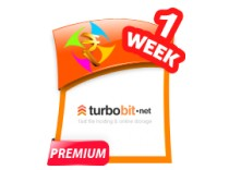 Turbobit 1 Week Premium Account