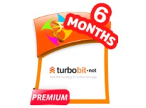 Turbobit 6 Months Premium Account