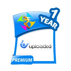 Uploaded.net 1 Year Premium Account