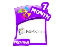 Filepost 1 Month Premium Account