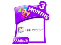 FilePost 3 Months Premium Account