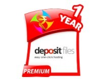 Depositfiles 1 Year Gold Premium Account