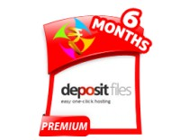 Depositfiles 6 Months Gold Premium Account