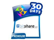 Bitshare 1 Month Premium Account